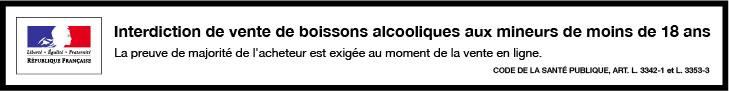 Boissons alcooliques interdit aux mineurs