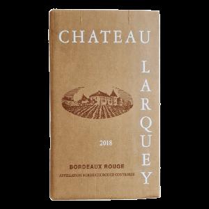 Bag In Box cubi 10 litres Bordeaux rouge chateau larquey caudrot