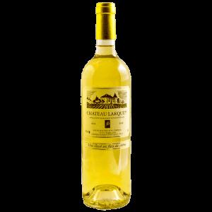 Bouteille cuvee selection Bordeaux superieur Blanc Moelleux chateau larquey caudrot