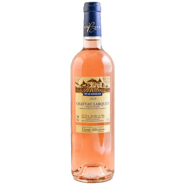 Cuvee Selection Bordeaux rose Chateau Larquey Caudrot France