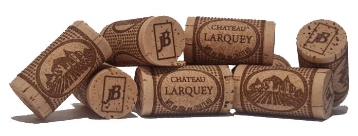 bouchons liege bouteau chateau larquey